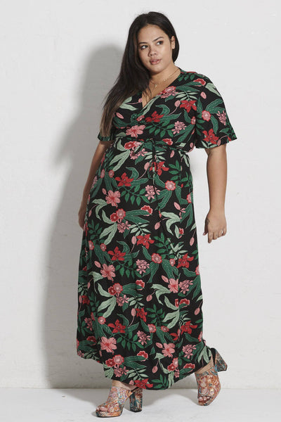 Hadley Maxi Wrap Dress