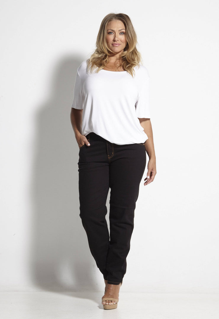Brigitte Black Stretch Jean