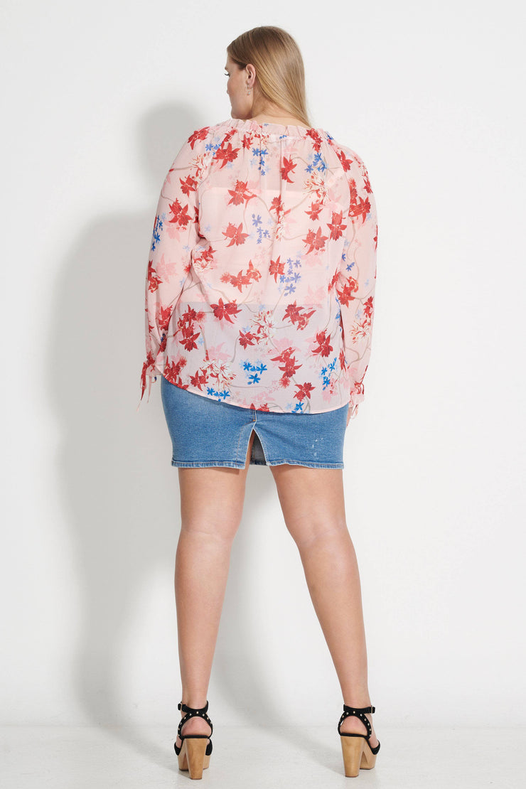 Blush Spring Bloom Top