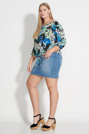 Fever Vintage Denim Skirt
