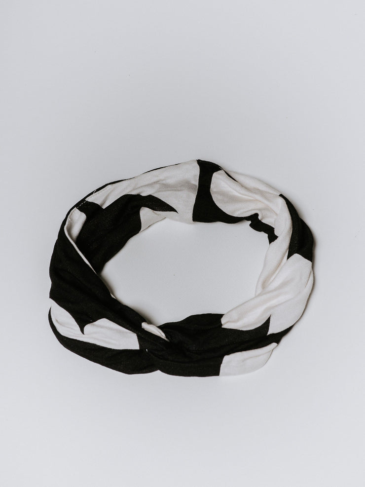 Black Florence Head Band