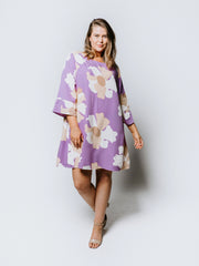 Purple Jellyfish Merokok Dress