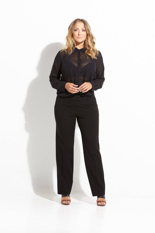 Eve Ladies Pants - BLACK