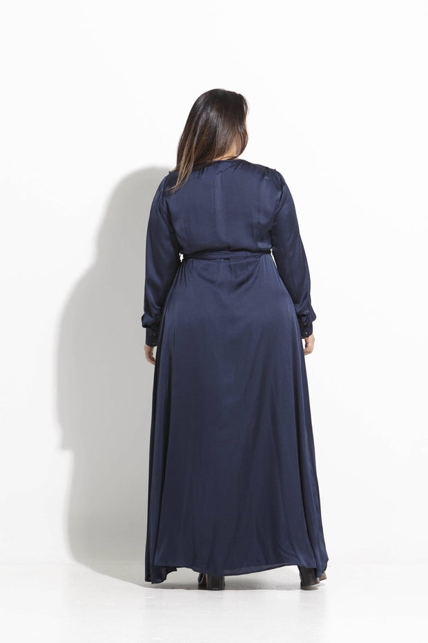 Birkin Navy Maxi Dress