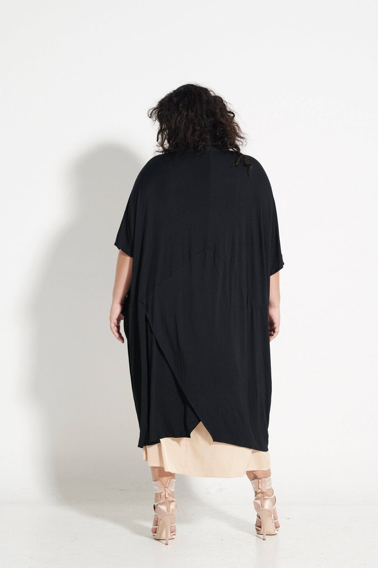 Majestic 4-in-1 Kimono wrap: Black ONLY 2 LEFT