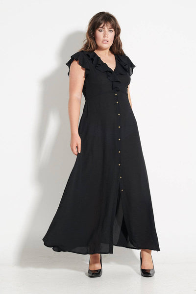 Birkin Black Maxi Dress