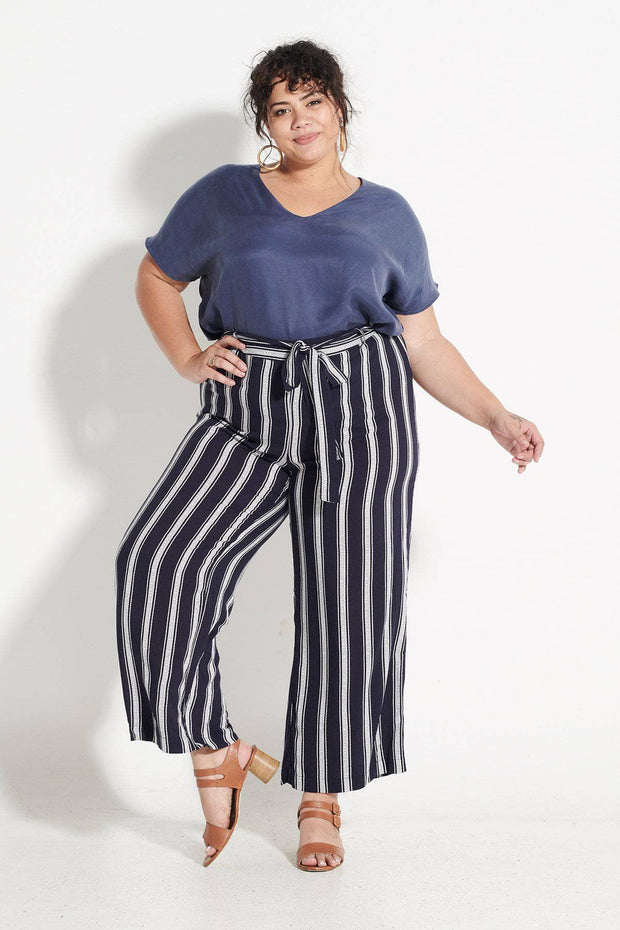 Linear Stripe Pant