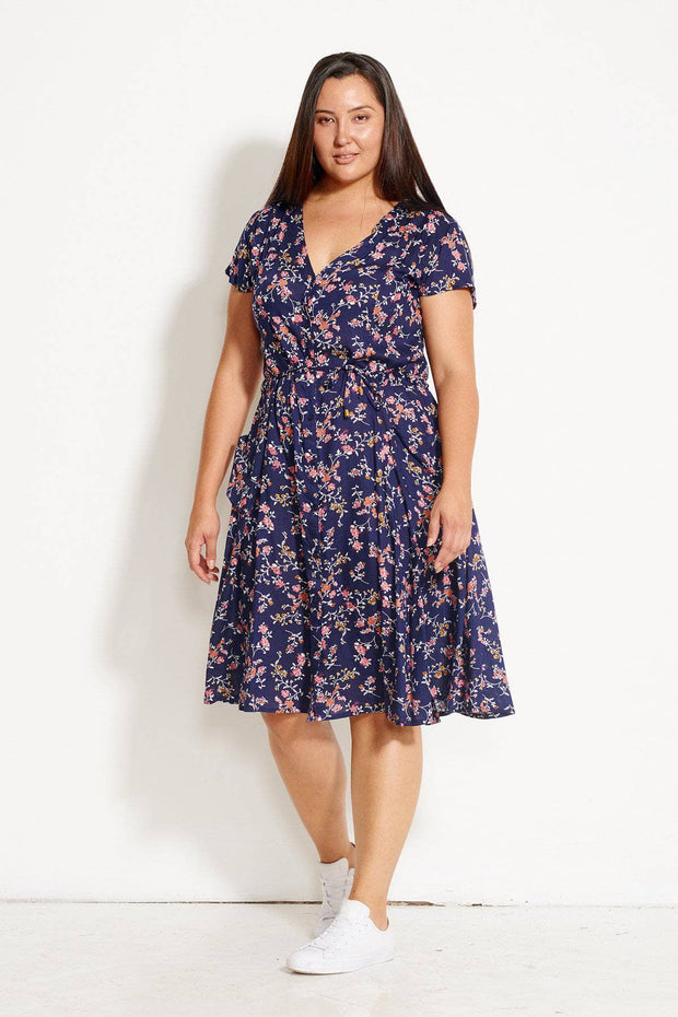 Island Hopper Dress - Wildflower Floral