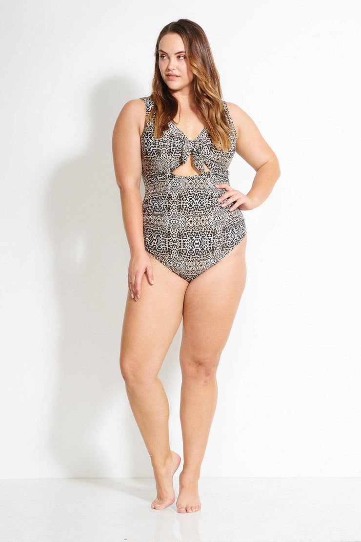 Leopard Cezanne One Piece