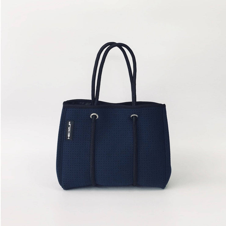 Navy Neoprene Tote Bag