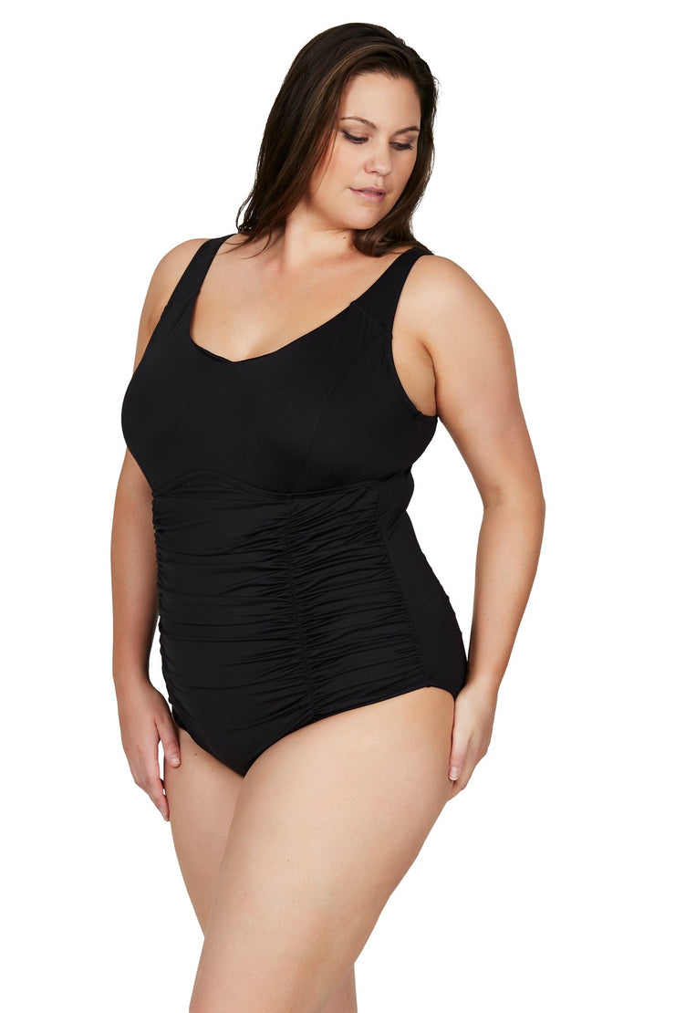 Black Hues Raphael E/F Underwire One Piece