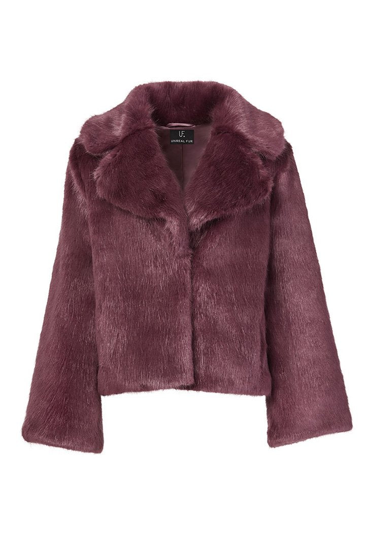 Madam Butterfly Jacket in Wine