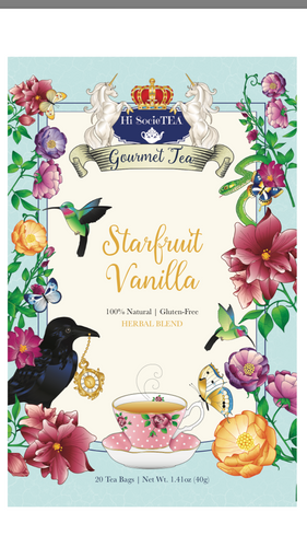 Starfruit Vanilla Spice (Herbal Blend)