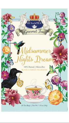 Midsummer Nights Dream (Black/Green Tea Blend)
