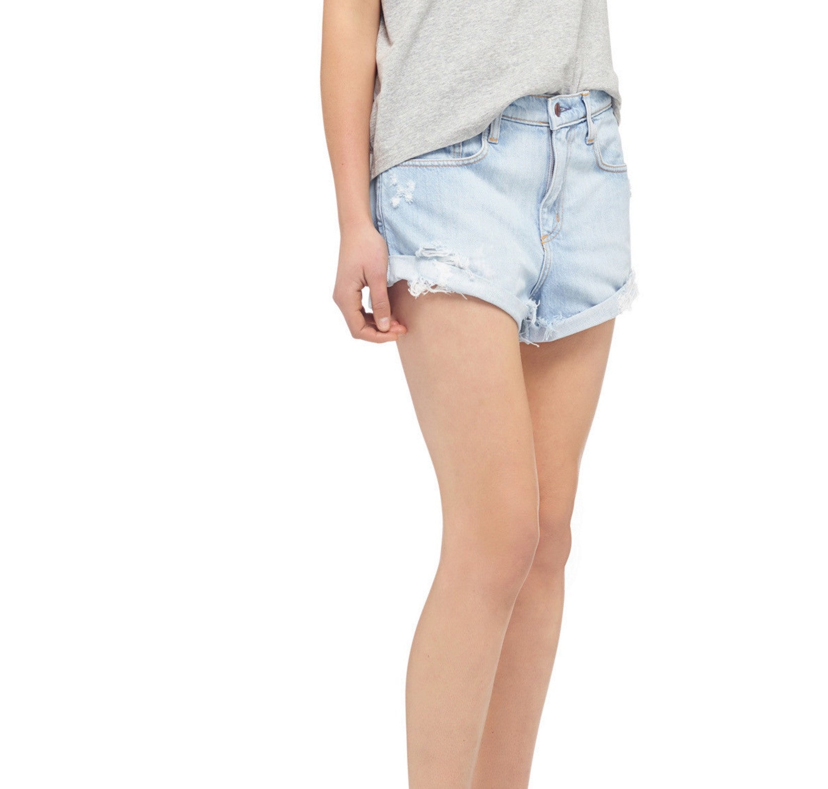WASHED BOHO SHORT