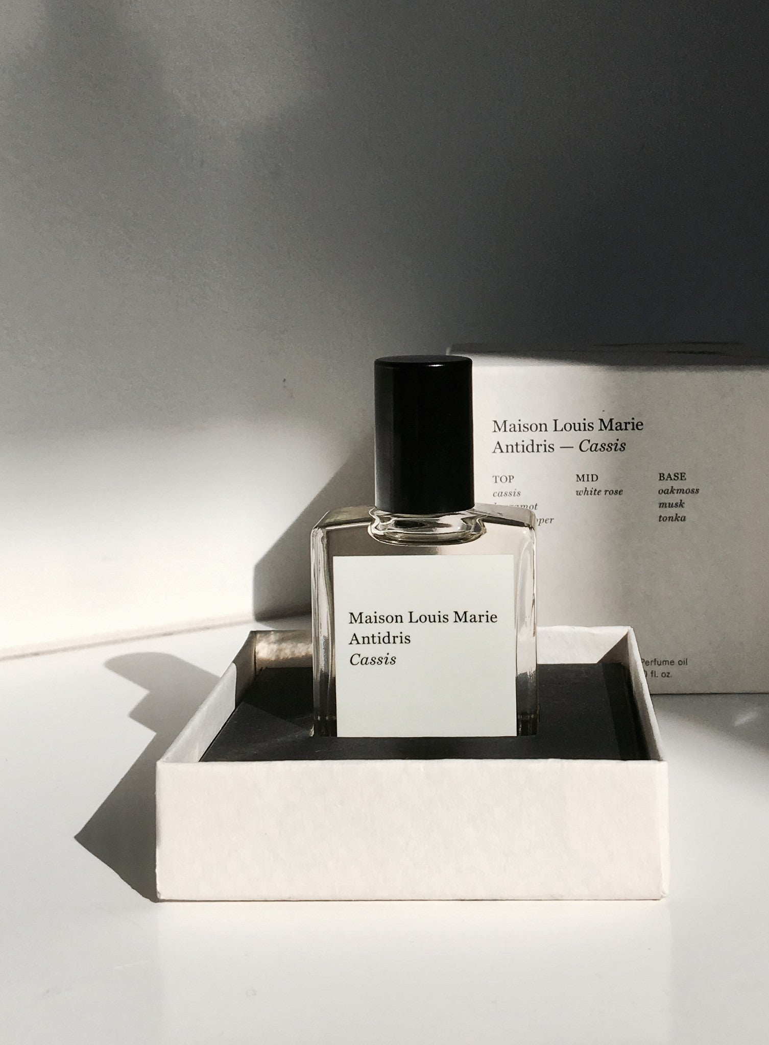 MAISON LOUIS MARIE 'CASSIS' PERFUMED OIL