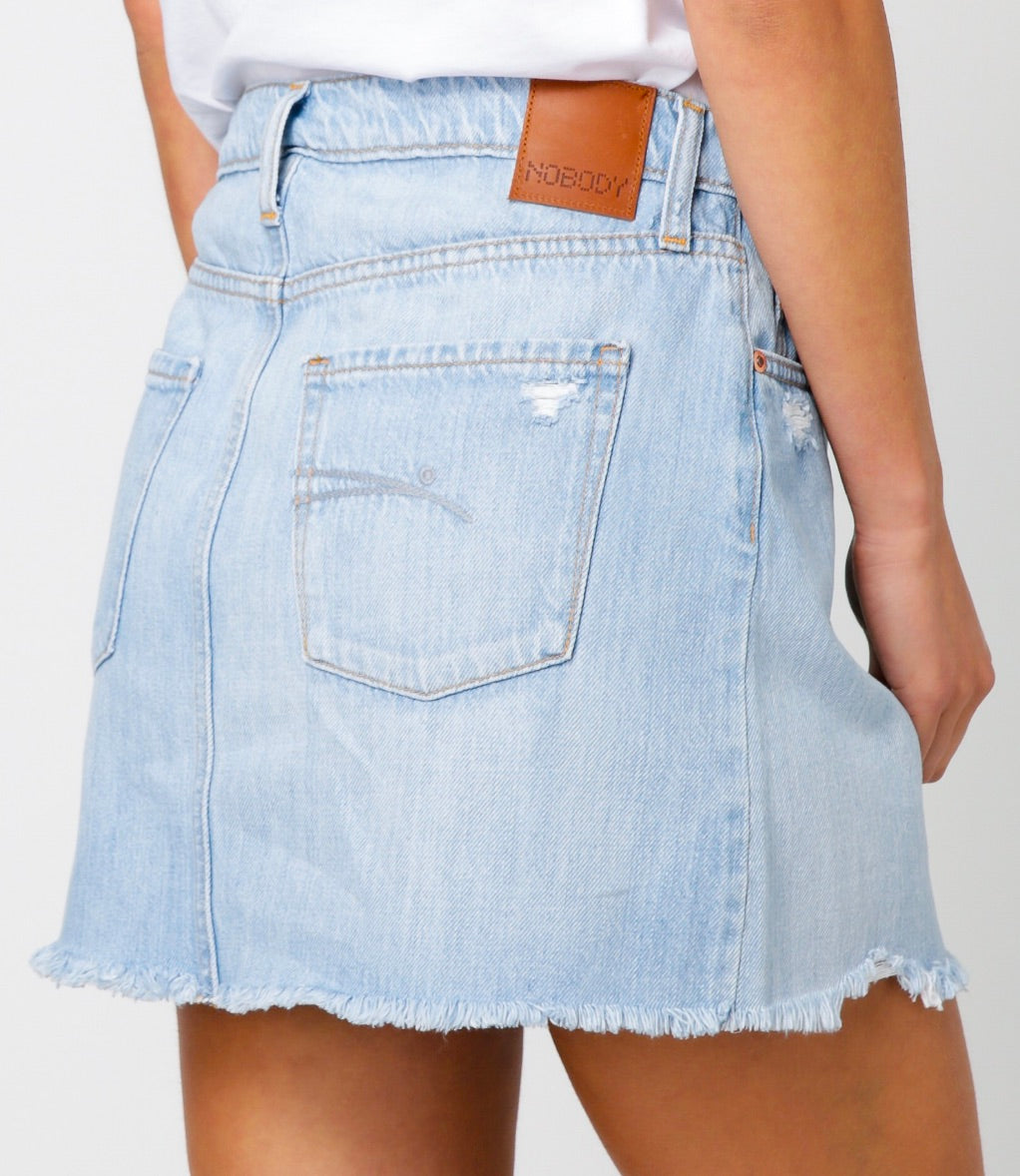 DENIM PRAIRE SKIRT