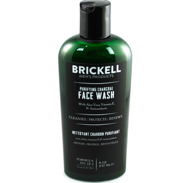 Brickell Face Wash - Charcoal