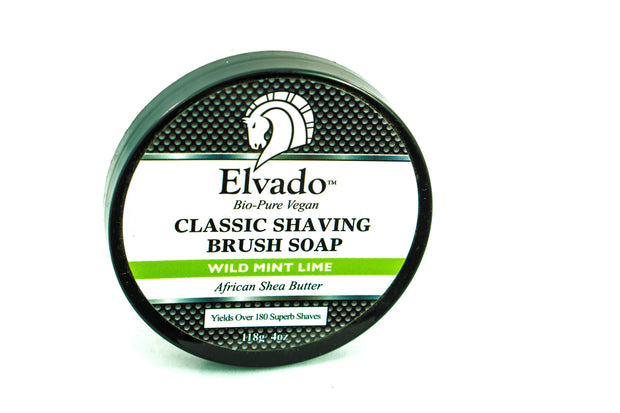 Elvado Classic Shaving Soap - Wild Mint Lime