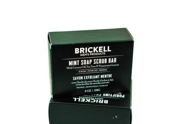 Brickell Bar Soap - Mint