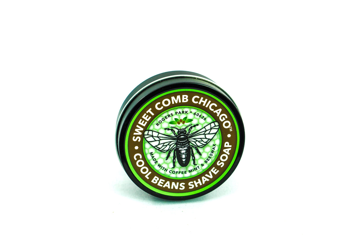 Sweet Comb Chicago Shave Soap - Coffee & Mint