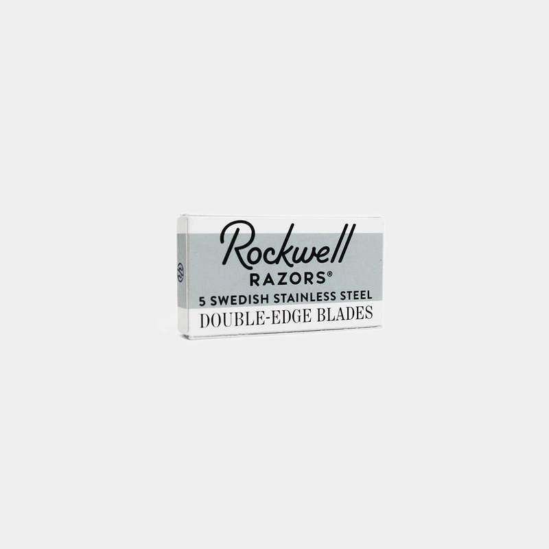Rockwell Razors Stainless Steel Double Edge Blades - 5 Count