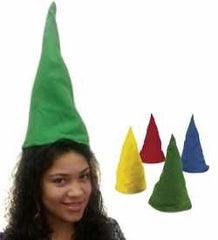 Gnome Hats - Set Of 12 Hats - Dwarf Hats - Dwarf Costume - Gnome Costume by Funny Party Hats