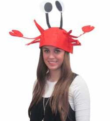 Crab Hat - Crawfish Hat - Fish Hat - Lobster Hat - Crab Costume by Funny Party Hats