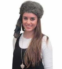 Coonskin Cap - Daniel Boone Hat Raccoon Tail Hats Novelty Hat by Funny Party Hats