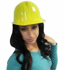 Construction Hat for Adults - Plastic Hard Hats - Party Hats for Adults by Funny Party Hats