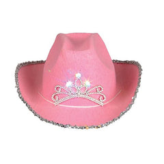 Cowboy Hat for Adults - Felt Cowboy Hats w/ Paisley Bandana by Funny Party Hats