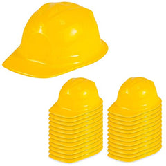 Funny Party Hats Dress Up Hats - Construction Hats - Soft Plastic Hats by (24 Pack)