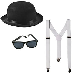 Funny Party Hats Gangster Costume - Roaring 20's Costume - Mobster Costume - Gangster Accessories