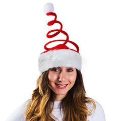 Funny Party Hats Christmas Elf Hat - Felt Elf Hat With Jingle Bells or Ears - Santa Hats For Adults - Christmas Hats