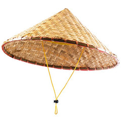 Funny Party Hats Coolie Hat - Asian Coolie Hats - Rice Patty Hats - Sun Hat - Adult Costume accessories