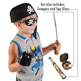 Pirate Accessories - Costume Accessory Set by Funny Party Hats