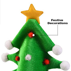 ... Christmas Hat - Adult Christmas Tree Hat - Novelty Hats Funny Party Hats 3ec98bc6cee0
