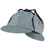 Sherlock Holmes Detective Bundle- Detective Hat Costume Pipe & Magnifying Glass