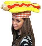 Funny Party Hats Food Hats - Pizza Hamburger Hot Dog Costume Party Dress up - Chef Hat