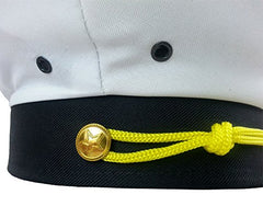 Funny Party Hats Captain Hat - Yacht Boat Sailing Fishing Captains Cap