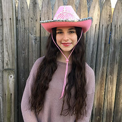 Cowboy Hat for Women - Cowgirl Hat - Cowgirl Costume Hat - by Funny Party Hats