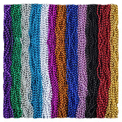Funny Party Hats Mardi Gras Beads Necklaces - Party Costumes Accessories 144 Pc