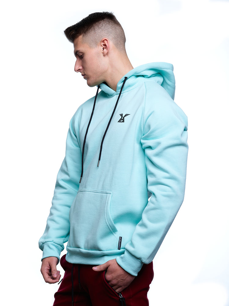 CORE-FIT™ UniSex Hoodies - Ice Blue