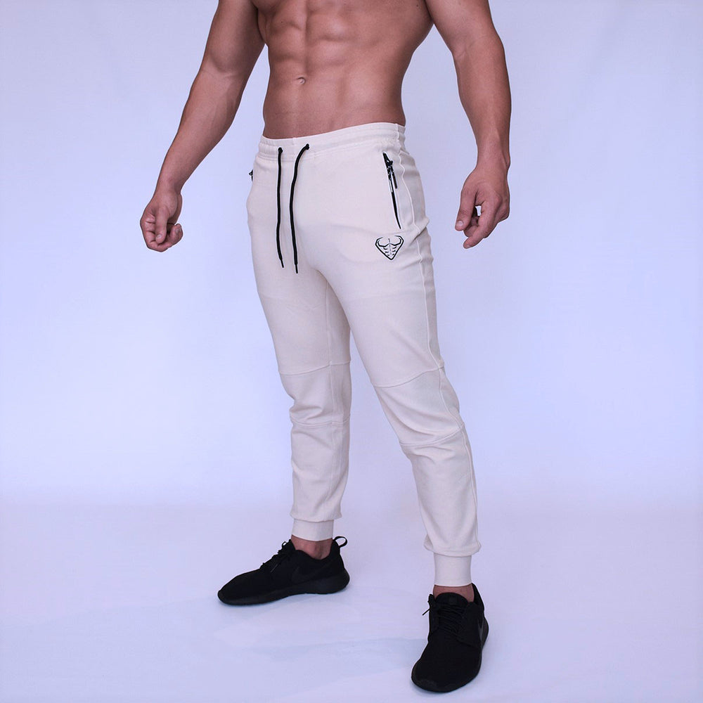 CORE-FIT™ Signature Tech Stretch Cuffed Joggers - SAND