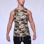 CORE-FIT™ Cut Off Fishtail Tee – CAMO