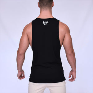 CORE-FIT™ Cut Off Fishtail Tee – JET