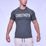 CORE-FIT™ Active Top - Fishtail Cut - JET
