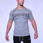 CORE-FIT™ Active Top - Fishtail Cut - LIGHT GRAY