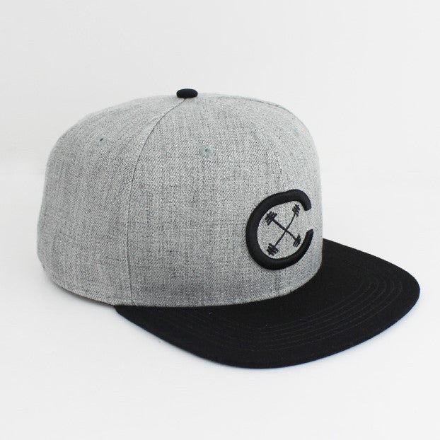 Snap Back - Signature CX - Gray/Black