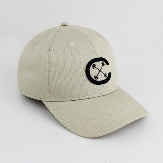 Dad Hat - Signature CX - Light Taupe/Black